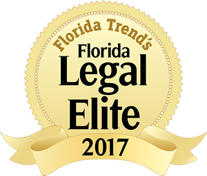 Florida Legal Elite 2017 Winner Badge