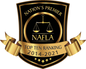 Jason Brodie | National Academy of Family Law Attorneys, Top 10 Family Law Attorneys - 2014-2021